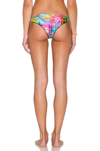 Sea Salt  Angel Strappy Brazilian Bikini Bottom - Kustom Label - 4