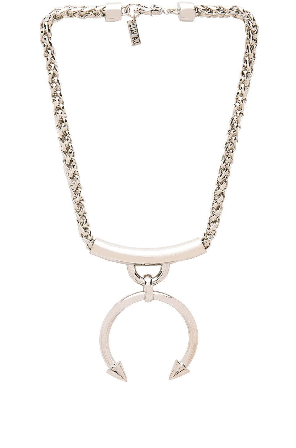 The Barbell Ring Necklace - Kustom Label