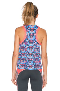 Blooming The Sky Tank Top - Kustom Label - 3