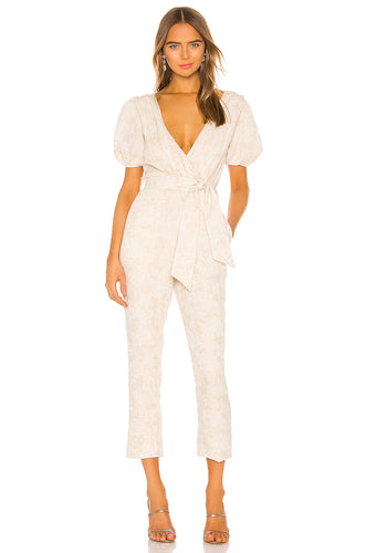 Brina Jumpsuit in Oatmilk