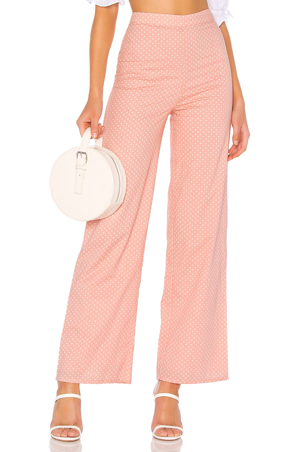 Brandy Pants in Pink Dot