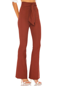 Jennifer Pants in Terra Cotta