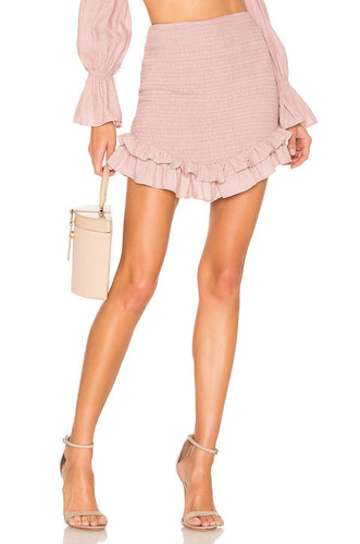 Lark Skirt in Blush