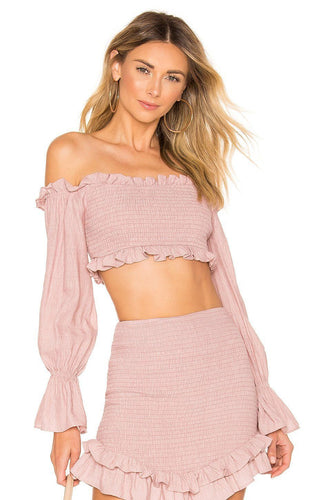 Lark Top in Blush