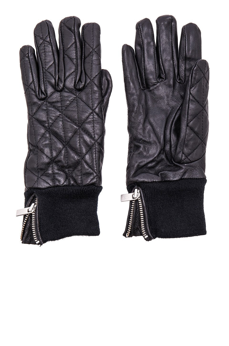 Leather Quilted Gloves - Kustom Label