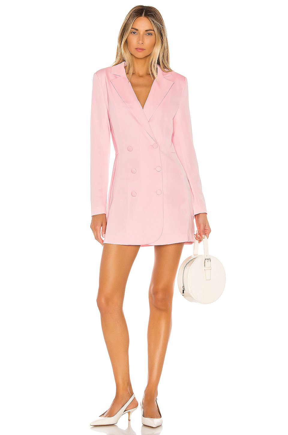 Naven Milo Mini Dress in Lotus Pink