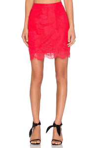 Fever Lace Skirt - Kustom Label - 1