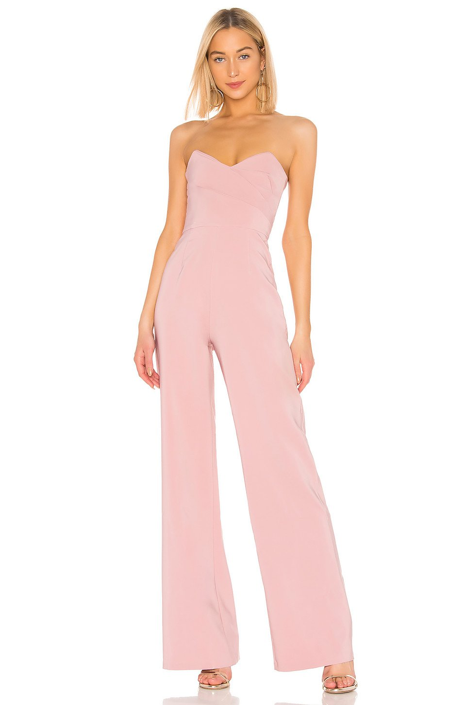 Bisous Jumpsuit in Dusty Pink