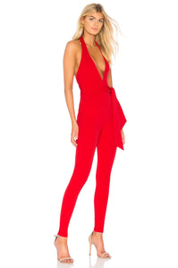 Dare Jumpsuit in Red