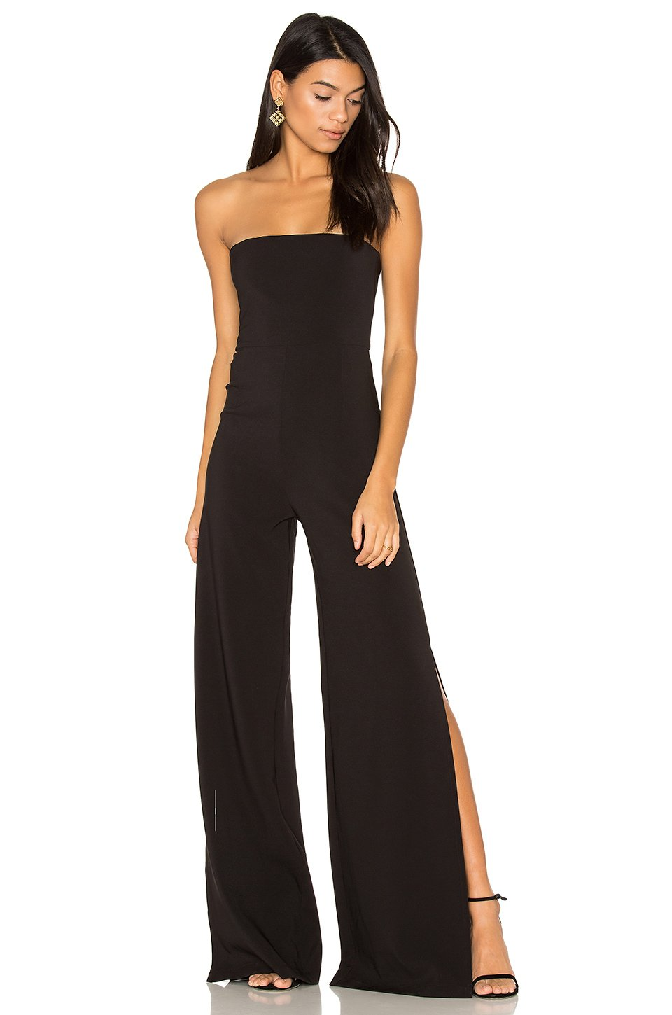 Glamour Jumpsuit in Black