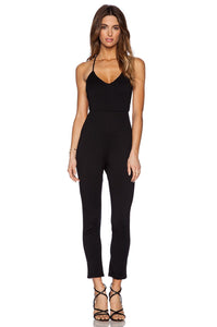 Plunge Neck Jumpsuit - Kustom Label - 3