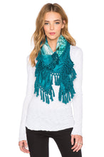 Load image into Gallery viewer, Leo Print Tassel Scarf - Kustom Label - 1