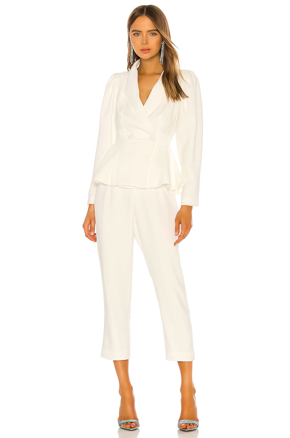 Aldina Jumpsuit in White