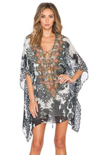 Load image into Gallery viewer, Short Lace Up Kaftan - Kustom Label - 1