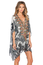 Load image into Gallery viewer, Short Lace Up Kaftan - Kustom Label - 4