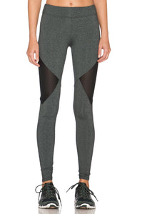 Side Mesh Cut-Out Legging - Kustom Label - 1