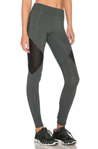 Side Mesh Cut-Out Legging - Kustom Label - 2