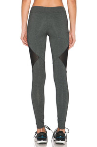 Side Mesh Cut-Out Legging - Kustom Label - 3