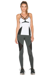 Side Mesh Cut-Out Legging - Kustom Label - 4