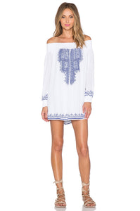Jacqueline Tunic In White