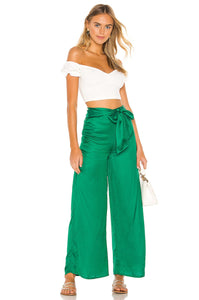 Sydney Pant in Kelly Green
