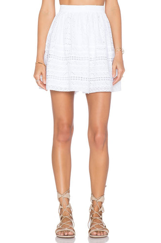 Payton Skirt in White