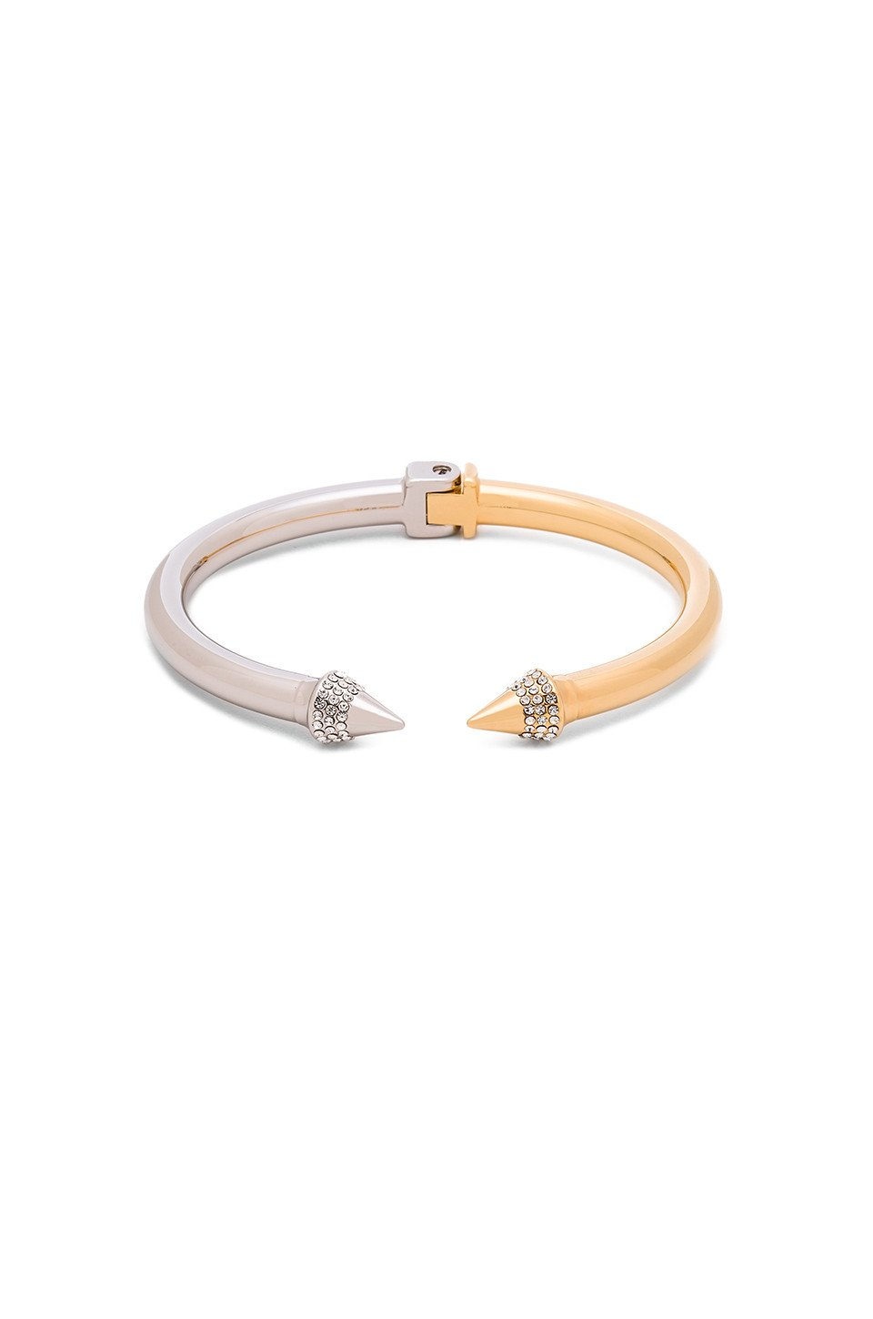 Mini Titan Split Two-Tone Bracelet - Kustom Label - 1
