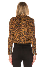 Load image into Gallery viewer, Real Love Biker Jacket in Leopard
