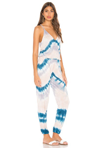 Keely Jumpsuit in Blue Valley Wash