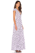 Load image into Gallery viewer, Sid Wrap Maxi Dress in Lilac