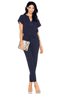 Sabella Jumpsuit in Indigo