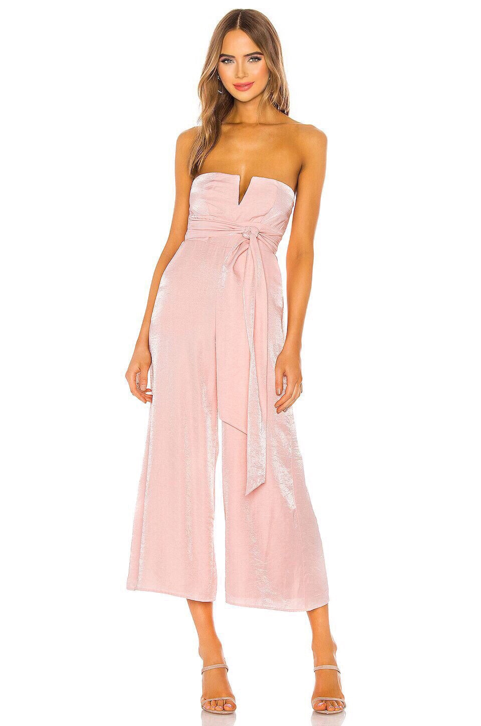 Naomi Jumpsuit in Pink Cloud
