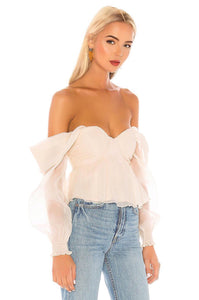 Burna Blouse in Cream