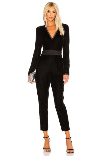 Rafele Jumpsuit in Black