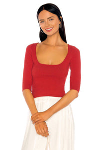 Bianca Sweater in Red
