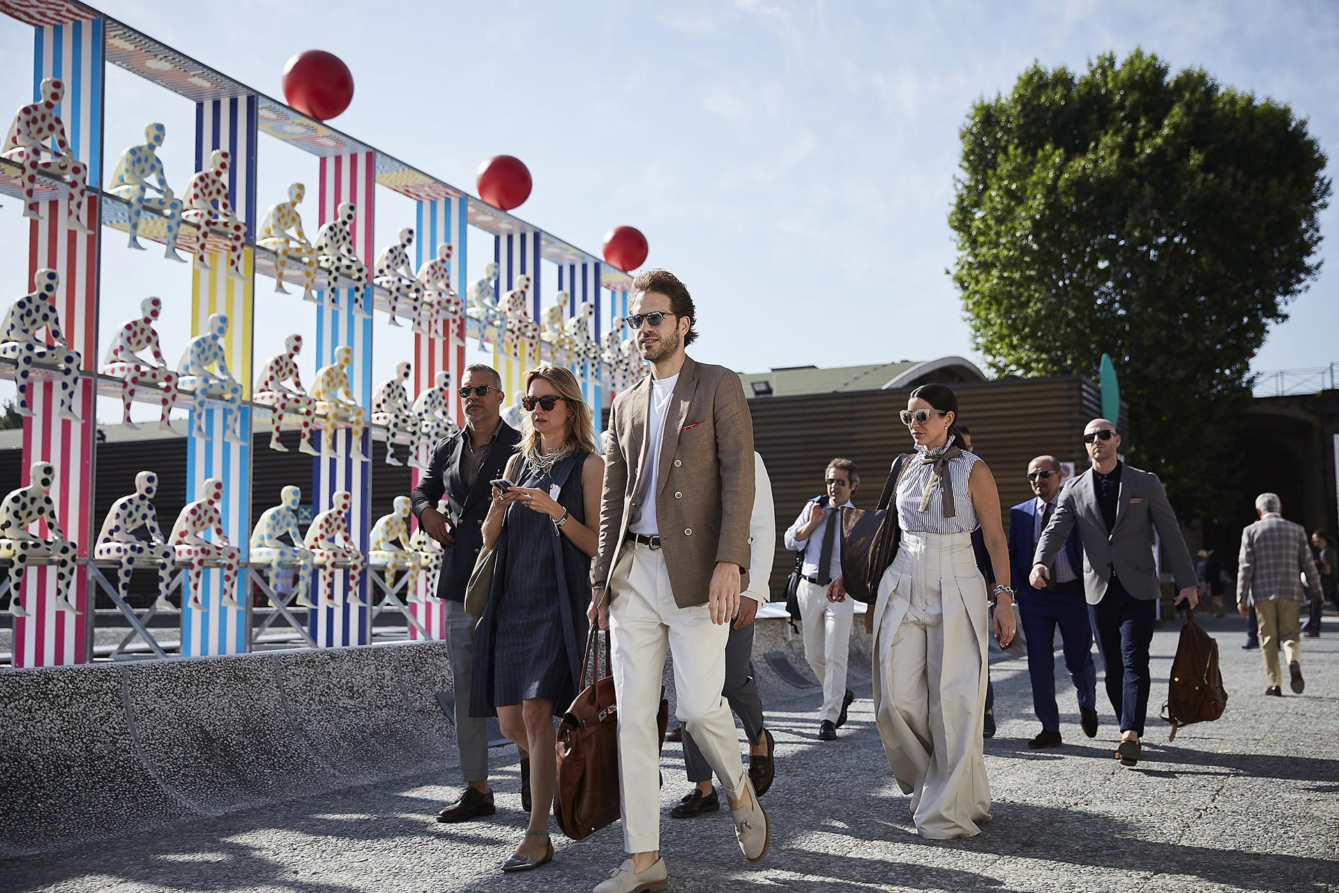 PITTI UOMO '94 - Central Pavilion STAND G/4