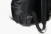 Paolo - Black Nylon & Leather/Jacquard - Business Backpack