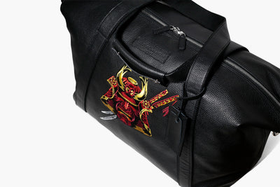 Garment Luggage - LEONE - Black Leather