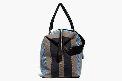 Latone - Blue Malindi/Regimental - Weekender bag