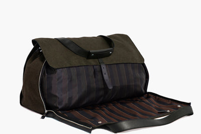 Suit Travel Garment Weekender - Reginald Brown Linen