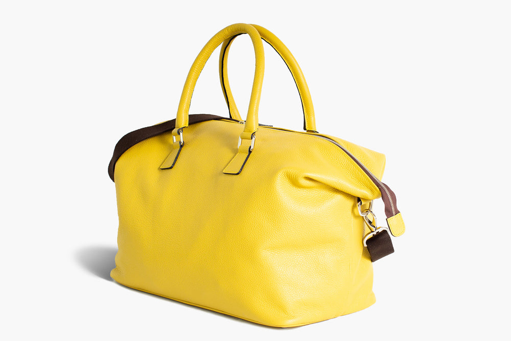 Borsone da viaggio in pelle | Weekender Bag leather | Borsa Weeken
