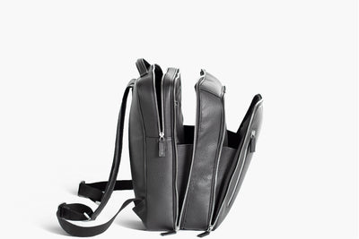 best business backpack in leather