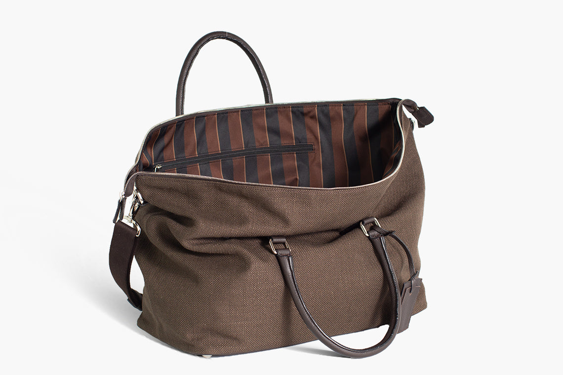 Best Gym bag Leather and Linen