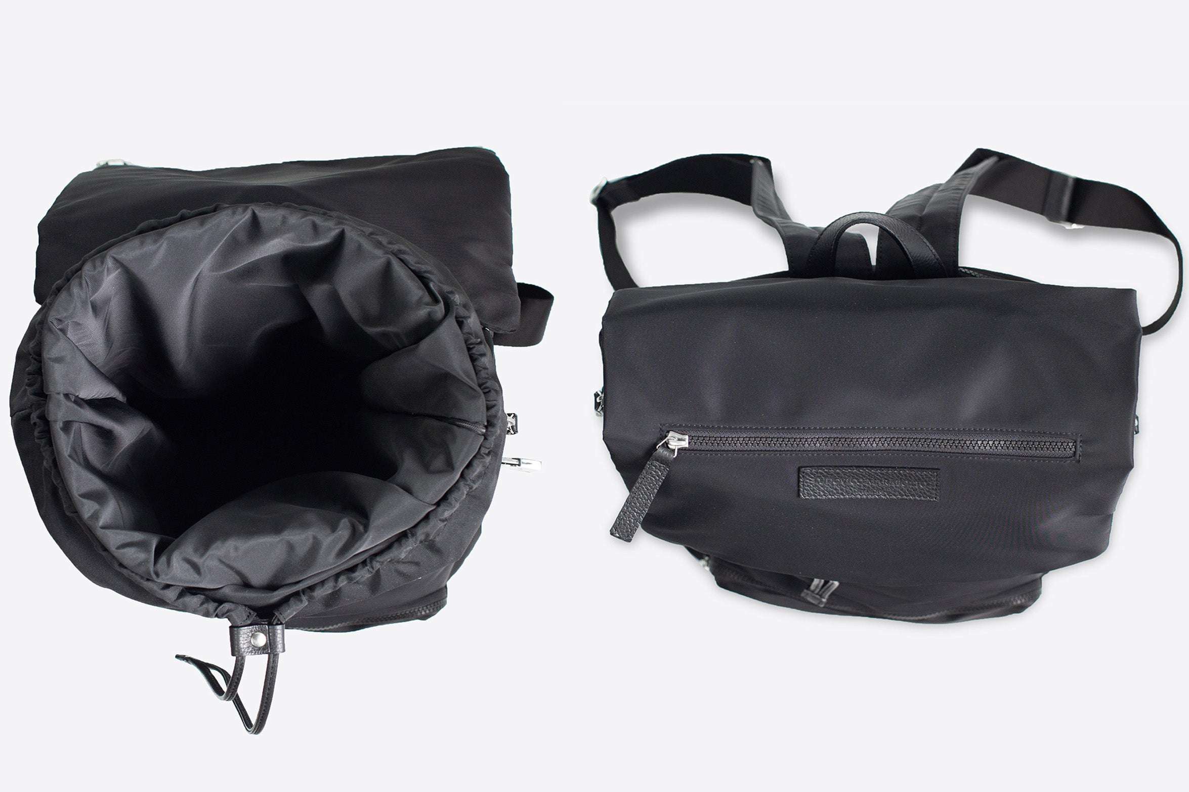Expandable suit garment backpack