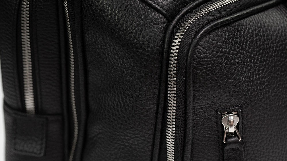 Leather backpack - zaino in pelle - Business