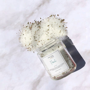 Float Bath Salt | Peppermint and Eucalyptus Bath Soak
