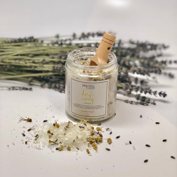 gracefultouch - Drift Away Bath Salt - GracefulTouch  - Herbal Bath Salts