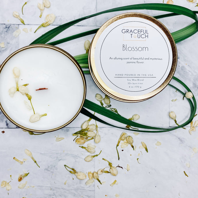 Blossom | Jasmine Scented Candle