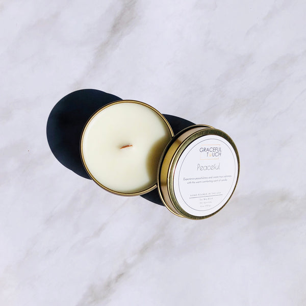 Peaceful | Vanilla Scented Candle