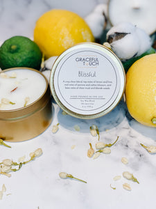 Blissful | Cotton Clean Scented Candle